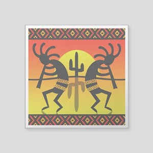 Southwest Design Dancing Kokopelli Sticker
