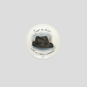 Hat For Leonard Crazy kid Dream Mini Button