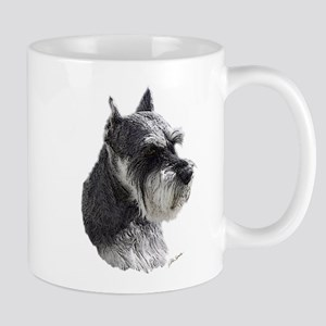 Schnauzer Portrait Art Mugs
