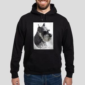 Schnauzer Portrait Art Hoodie