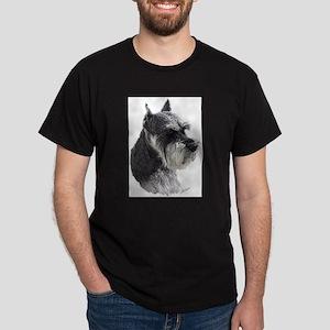 Schnauzer Portrait Art T-Shirt