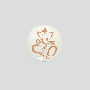 Ganapati Gganesh God Success Mini Button