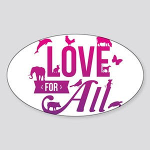 Love for All Sticker