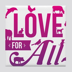 Love for All Tile Coaster