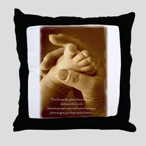 jeremiah 29 - plans for you Throw Pillow
