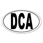 Ronald Reagan National Airport Oval Sticker
