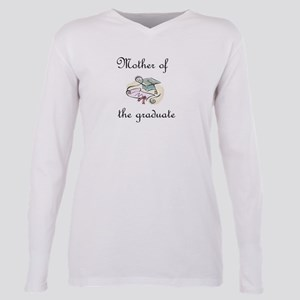 Mother of the graduate Plus Size Long Sleeve Tee