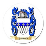 Paolinelli Round Car Magnet
