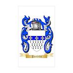 Paoletto Sticker (Rectangle 50 pk)