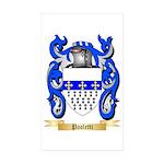 Paoletti Sticker (Rectangle 50 pk)