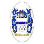 Paolazzi Sticker (Oval 50 pk)