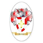Pantoja Sticker (Oval 10 pk)