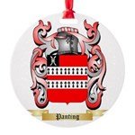 Panting Round Ornament