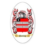 Panting Sticker (Oval)