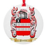 Pantin Round Ornament