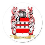 Pantin Round Car Magnet