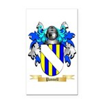 Pannell Rectangle Car Magnet