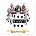 Pankhurst Square Car Magnet 3