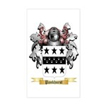 Pankhurst Sticker (Rectangle)