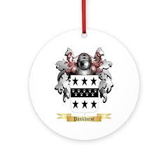 Pankhurst Round Ornament