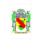 Paniagua Sticker (Rectangle 50 pk)
