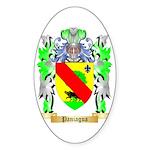 Paniagua Sticker (Oval 10 pk)