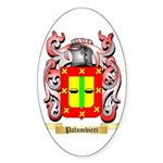 Palumbieri Sticker (Oval 50 pk)