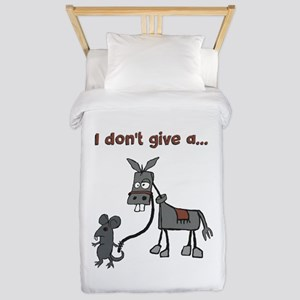 I dont give a... Twin Duvet