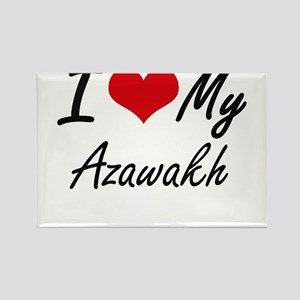 I love my Azawakh Magnets