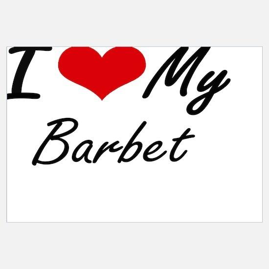 Cute Barbet Wall Art