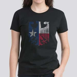Vintage Texas German Eagle Flag T-Shirt