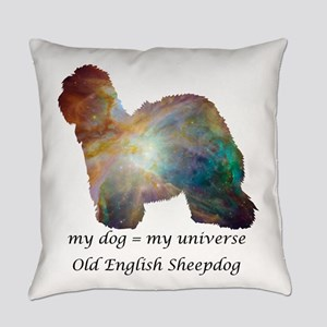 OLD ENGLISH SHEEPDOG Everyday Pillow
