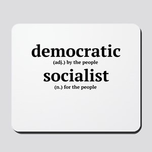 Democratic Socialist Mousepad
