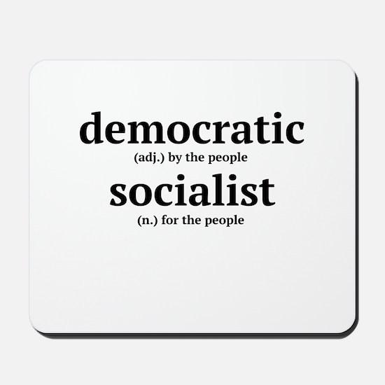 Democratic Socialist Mousepad