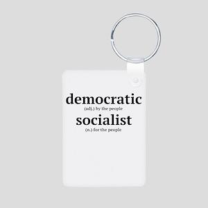 Democratic Socialist Keychains
