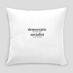 Democratic Socialist Everyday Pillow