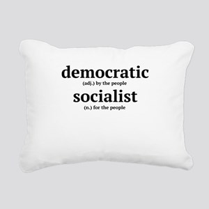 democratic socialist Rectangular Canvas Pillow