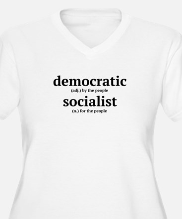 democratic socialist Plus Size T-Shirt