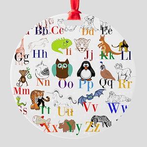 Alphabet Animals Ornament