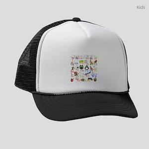Alphabet Animals Kids Trucker hat