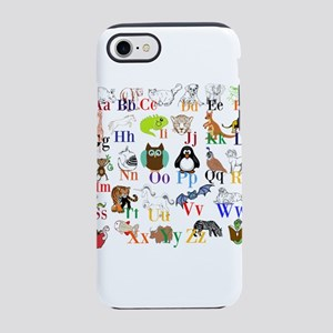Alphabet Animals iPhone 8/7 Tough Case