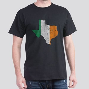 Vintage Irish Flag Texas State T-Shirt