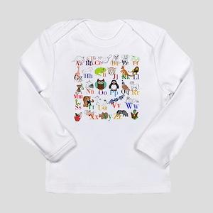 Alphabet Animals Long Sleeve T-Shirt