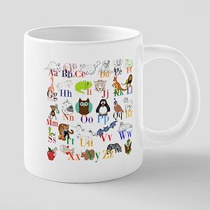 Alphabet Animals Mugs