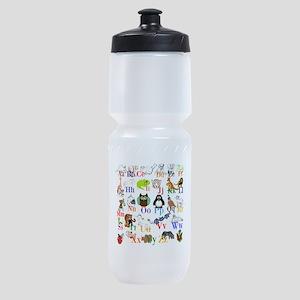 Alphabet Animals Sports Bottle