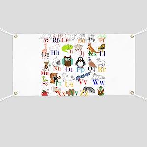 Alphabet Animals Banner