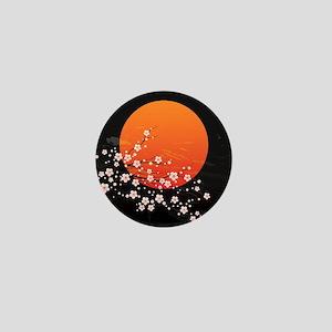 Asian Night Mini Button