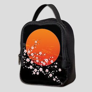 Asian Night Neoprene Lunch Bag