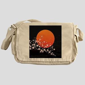 Asian Night Messenger Bag