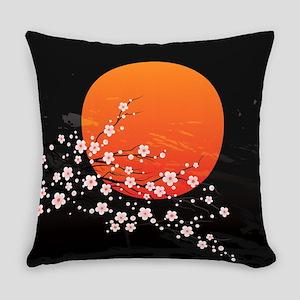 Asian Night Everyday Pillow